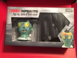 Zombie Eggpocalypse (Egg Cup, Spoon, & Toast Cutter Set)