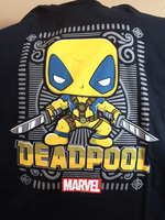 Marvel Collector Corps- Deadpool Shirt- Yellow