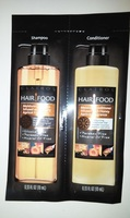 Clairol Hair Food Moisture Shampoo & Conditioner Infused with Honey Apricot Fragrance