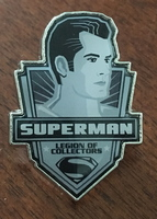 Legion of Collectors Superman pin - March 2016