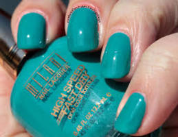 MILANI High Speed Fast Dry Nail Polish in QUICK TEAL 24