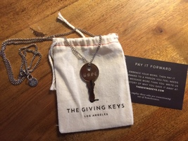 """The Giving Keys- Classic """"Hope"""" Necklace"""