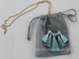 Miss Ivy Pearl Tassle Necklace