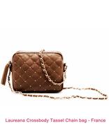 Laureana Crossbody Tassel Chain Bag