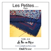 Les Petites Paris scarf exclusive for OuiPlease