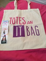 Book Tote Bag with bookmark