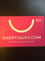 Shoptiques.com $25 gift card