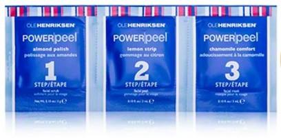 Ole Henriksen Power Peel 3 Step Spa-grade Peel System, 1 treatment set