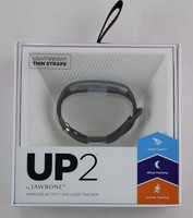 Jawbone Up2 Gunmetal Hex Lightweight Thin Strap