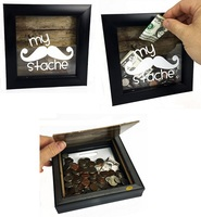 My Stache Shadow Box Bank