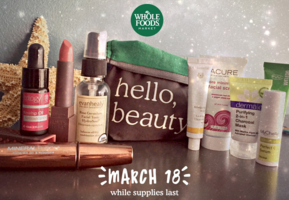 whole Foods Beauty Bag March 2016