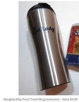 Naughty Kitty-Proof Travel Mug