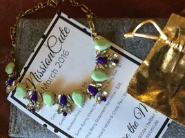 Spring Berry Statement Necklace