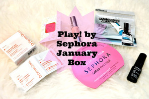 Play! by Sephora Complete January Box