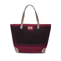 Thursday Friday Gold Toe Everyday Tote Wine