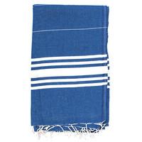 Pestemal Bath Towel - royal blue