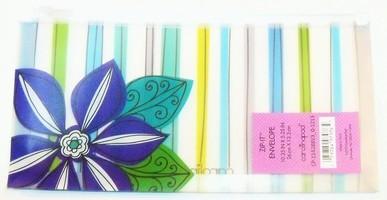 Carolina Pad Zip-it Plastic Reusable Envelope