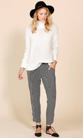 Grifflin Relaxed Jersey Pant, Stripe