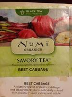 Numi Organics Savory Tea - Beet Cabbage