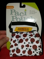 Ladybug Paci Pouch