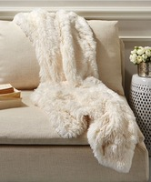Subscription Box Swaps - Bliss Home & Design White Faux Fox Throw on bliss garden design, bliss and love designs, bliss krekel design,