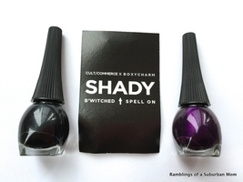 Cult/Commerce x Boxycharm - B'Witched black nail polish