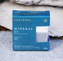 Saffron Mineral 21 Dead Sea Mud Soap