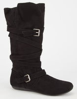 Report Footwear Black Boots - Size 10