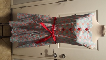 Retrolicious Snowflake Dress XL (more like large)