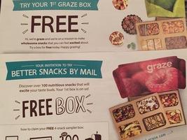Graze Free 4-snack Sampler