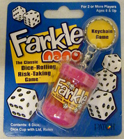 Farkle Nano keychain dice game