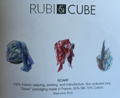 Rubi & Cube scarf from Oui please