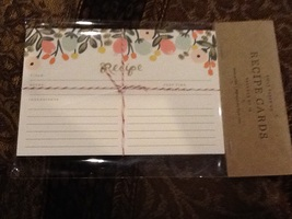 Rifle Paper Company Recipe Cards