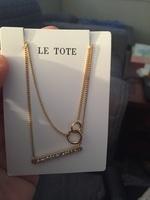 Le tote necklace