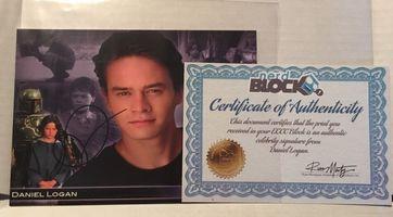 Emerald City Comic Con Nerd Block Exclusive Daniel Logan Autographed Photo w/COA