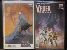 Nerd Block Emerald City ComicCon Marvel Star Wars Vader Down 2 Variant Comics