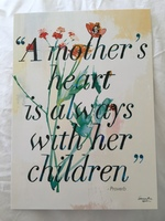 A mother's love print