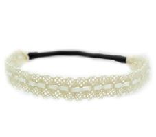 Cream Lace & Ribbon Headband