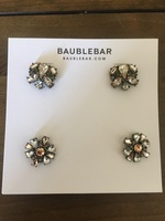 Bauble bar foliage stud duo in champagne