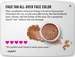 Bare Minerals All Over Face Color in Faux Tan