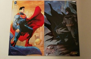 Superman & Batman  Art Print