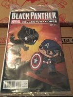 Black Panther 001 Collector Corp Variant Cover