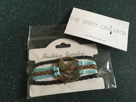 Geeky Cauldron Mockingjay Bracelet