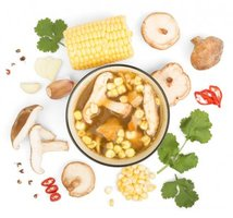 Chinese Shiitake Savory Broth