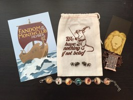 Lion Earrings from Fandom of the Month Club Narnia Theme