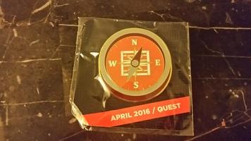April Lootcrate DX Quest Pin