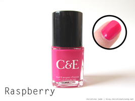 Crabtree and Evelyn Nail Polish in Raspberry