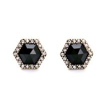 Black Diamond Studs by Cherrypick