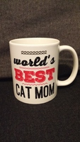 World's Best Cat Mom Mug CatLady Box Exclusive