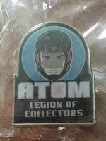 Legion of Collectors Atom pin - May 2016